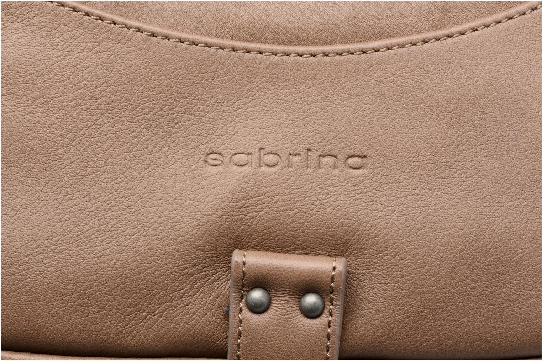 Handtaschen Sabrina Camille beige ansicht von links