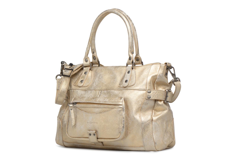 Bolsos de mano Sabrina Camille Oro y bronce vista del modelo