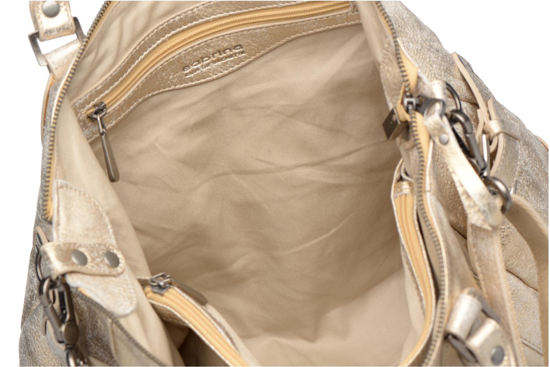 Handbags Sabrina Camille Bronze and Gold back view
