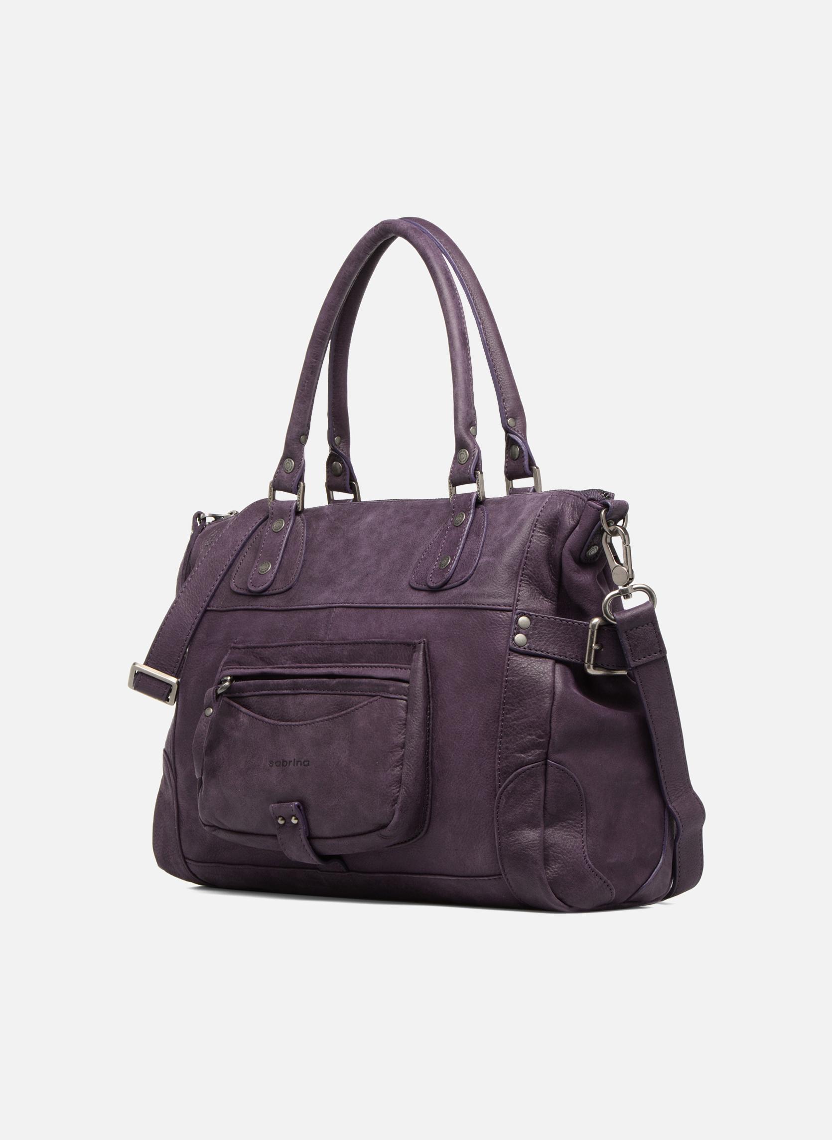 Handtaschen Sabrina Camille weinrot schuhe getragen