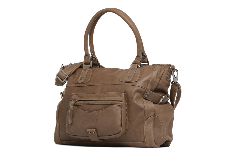Handbags Sabrina Camille Brown model view