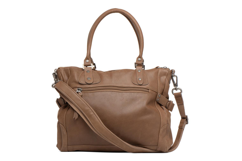 Håndtasker Sabrina Camille Brun se forfra