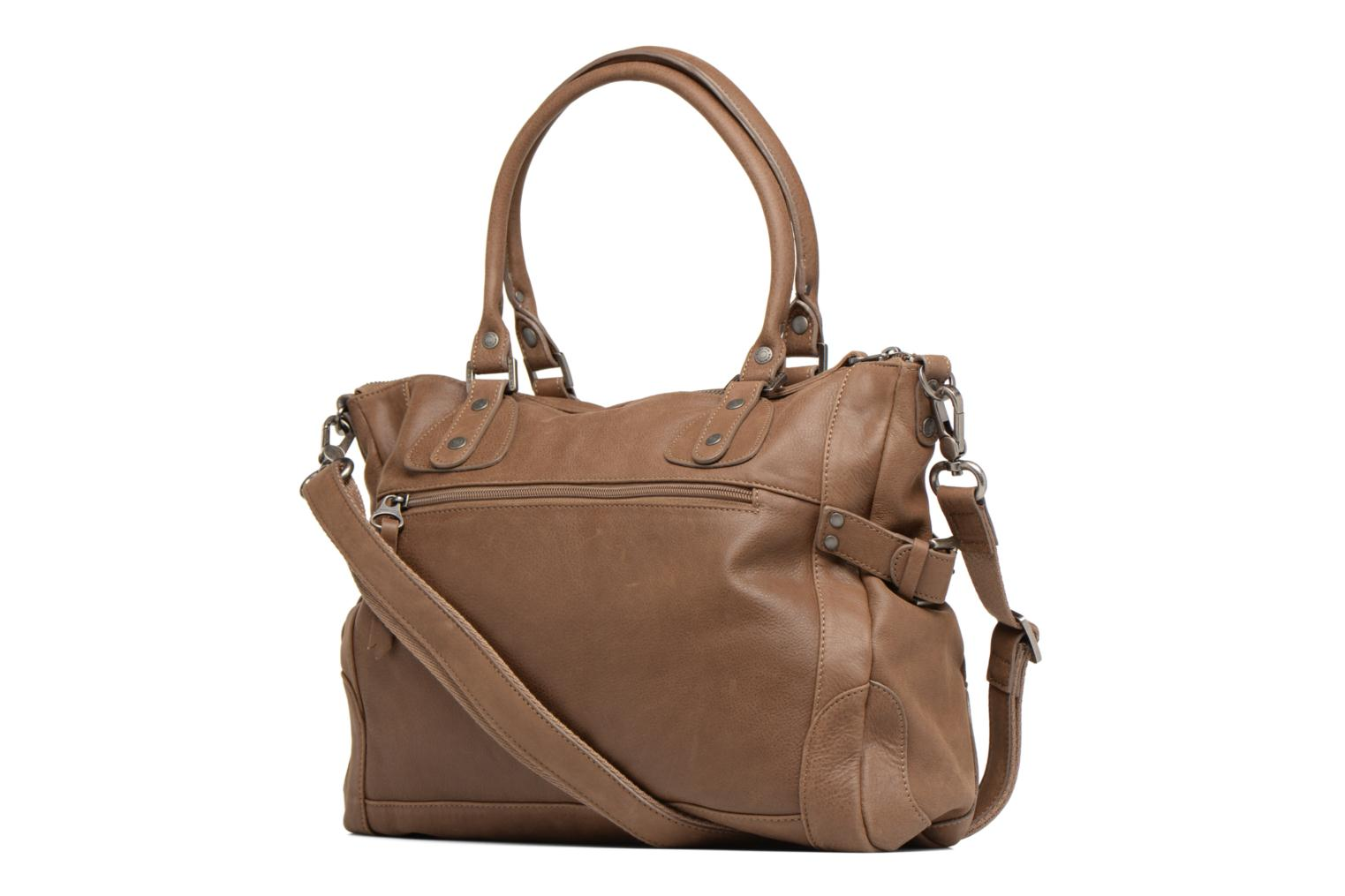 Handbags Sabrina Camille Brown view from the right