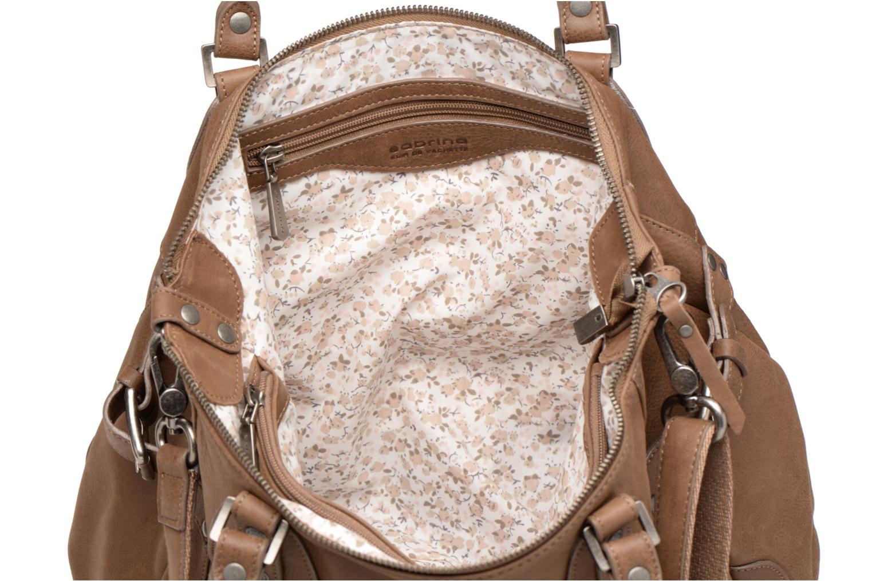 Håndtasker Sabrina Camille Brun se bagfra