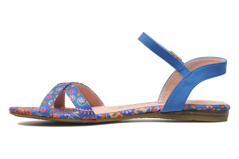 Sandalen Refresh Bathilde Blauw voorkant