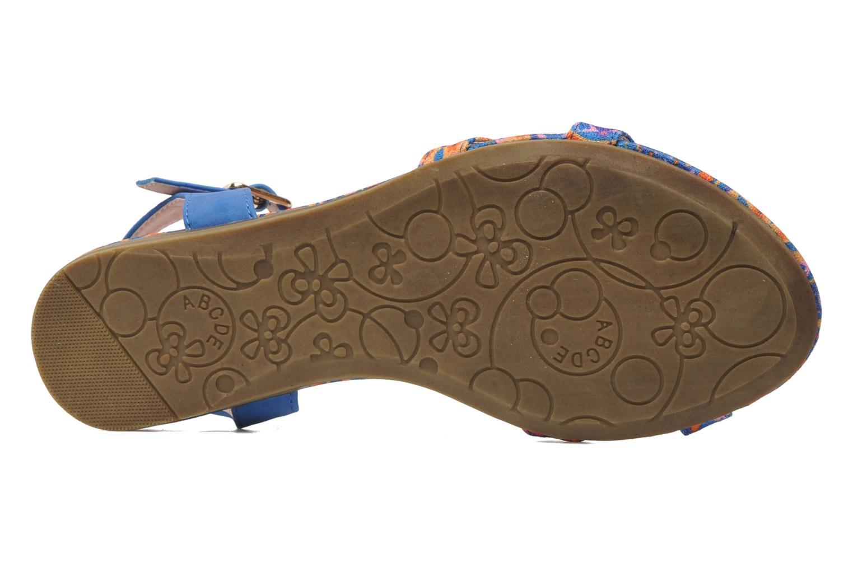 Sandalen Refresh Bathilde Blauw boven