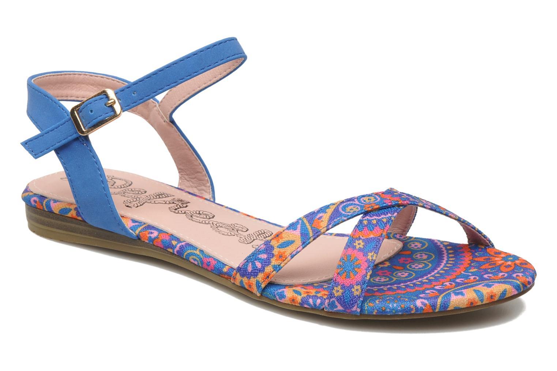 Sandalen Refresh Bathilde Blauw detail