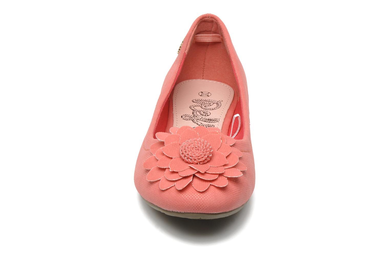 Ballerines Refresh Bénilde Rose vue portées chaussures