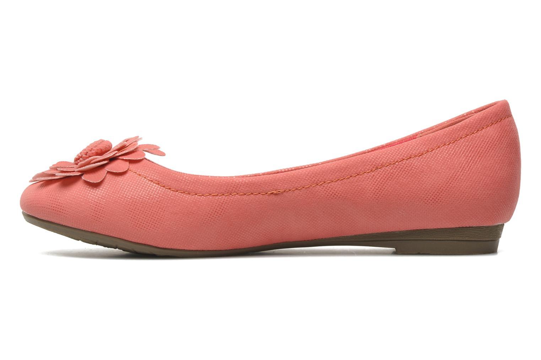 Ballerinas Refresh Bénilde rosa ansicht von vorne