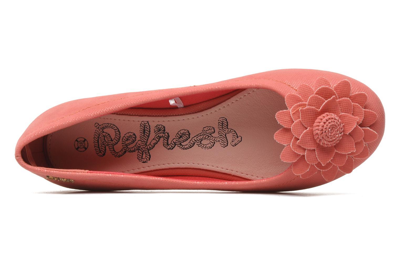 Ballerinas Refresh Bénilde rosa ansicht von links
