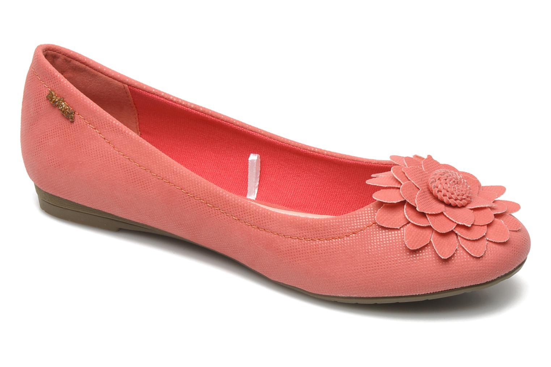 Ballerinaer Refresh Bénilde Pink detaljeret billede af skoene