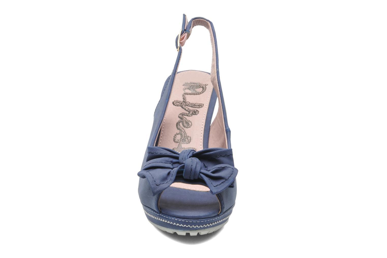 Sandales et nu-pieds Refresh Bojana Bleu vue portées chaussures