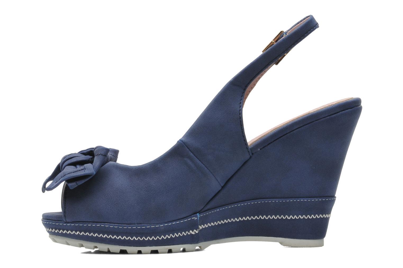 Sandalen Refresh Bojana blau ansicht von vorne
