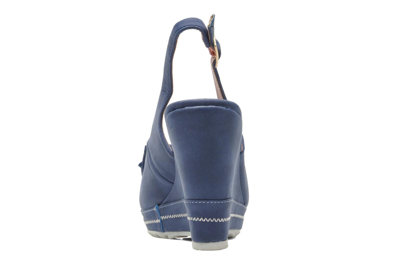 Sandalen Refresh Bojana blau ansicht von rechts