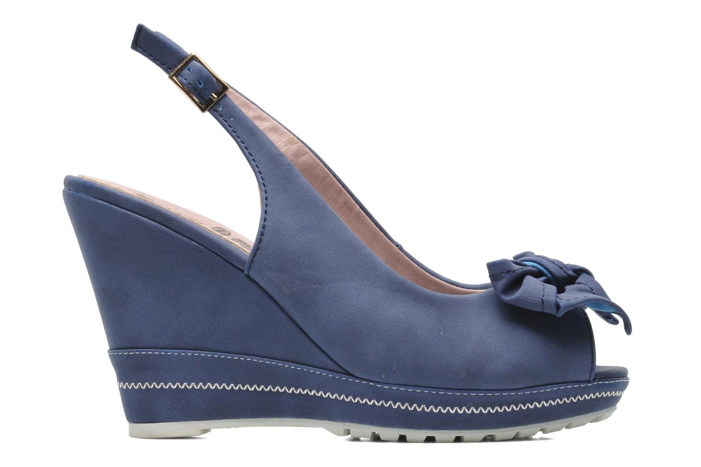 Sandalen Refresh Bojana blau ansicht von hinten