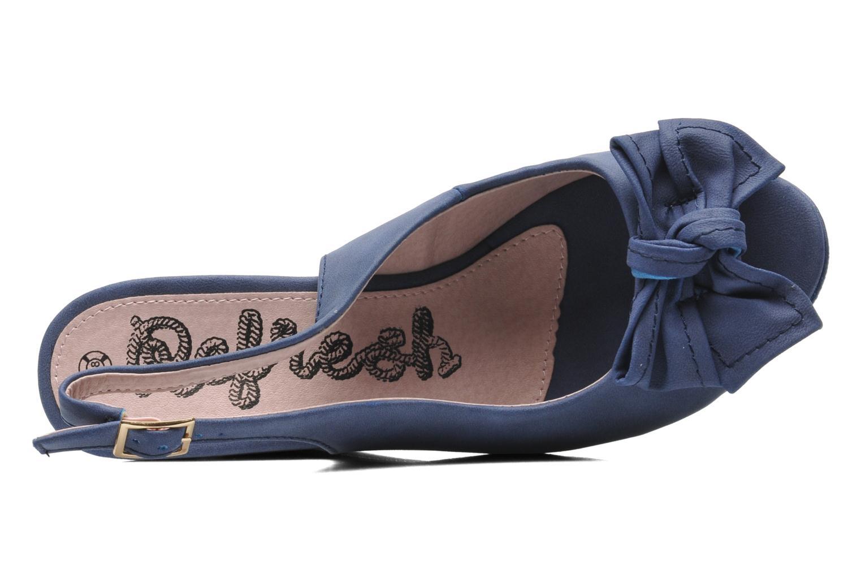 Sandalen Refresh Bojana blau ansicht von links