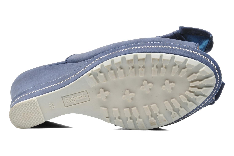 Sandales et nu-pieds Refresh Bojana Bleu vue haut