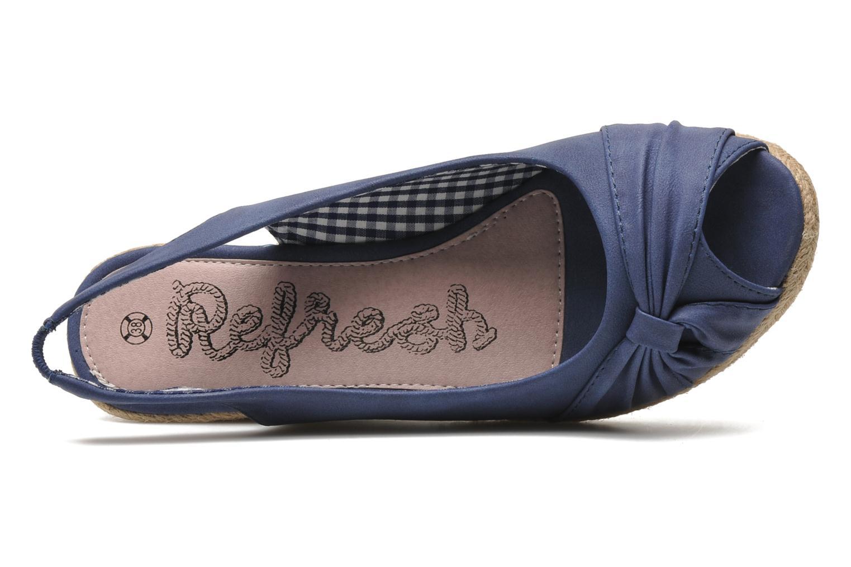 Sandalen Refresh Britt Blauw links