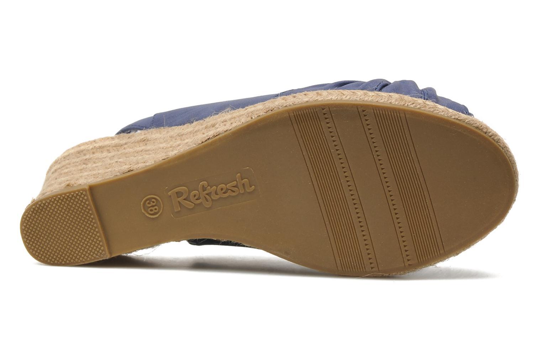 Sandalen Refresh Britt Blauw boven