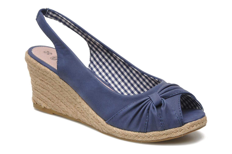 Sandalen Refresh Britt Blauw detail