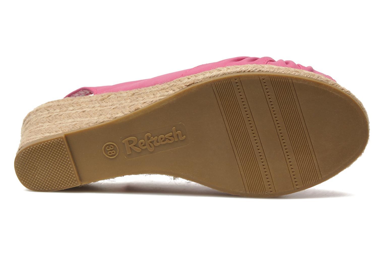 Sandalen Refresh Britt Roze boven