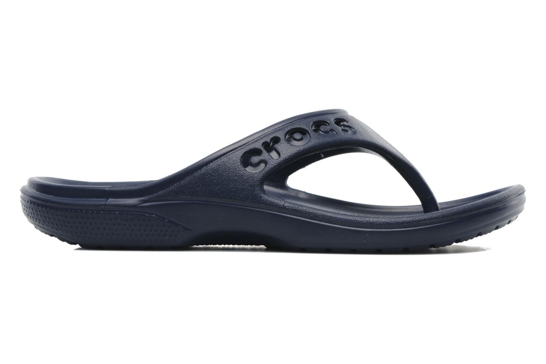 Tongs Crocs Baya Flip Bleu vue derrière