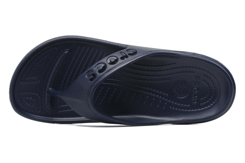 Slippers Crocs Baya Flip Blauw links
