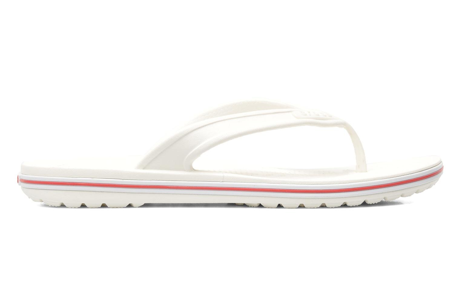 Crocband Flip Low Profile White Red