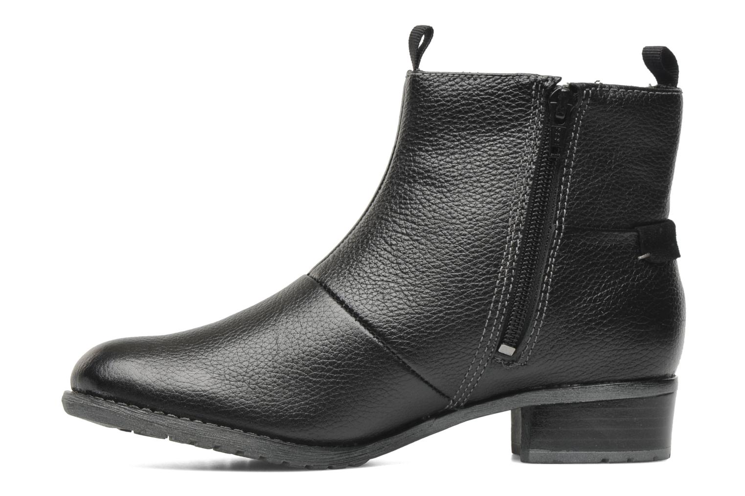 Ankle boots Hush Puppies chamber ankle_bt Black front view