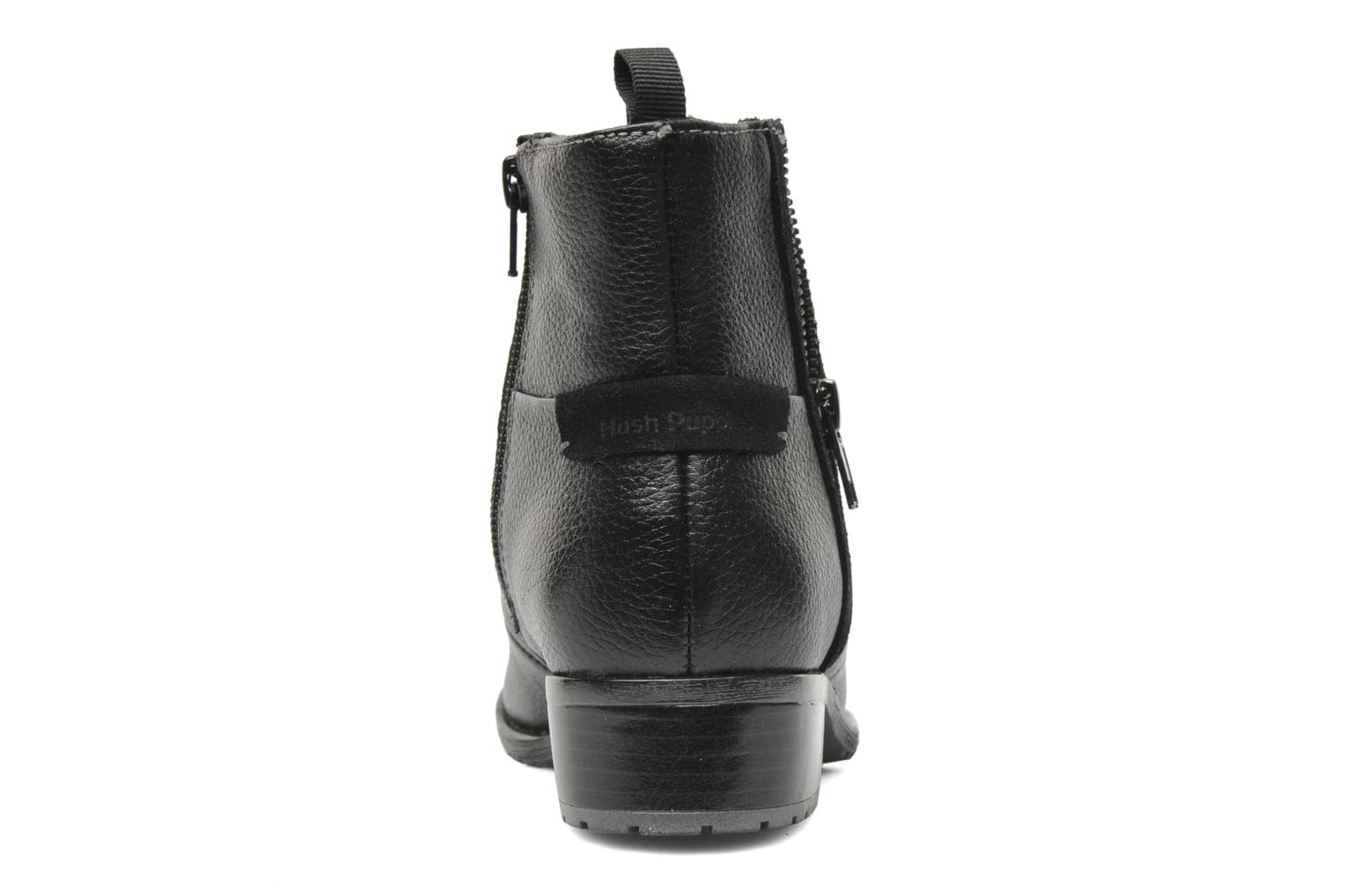 Ankle boots Hush Puppies chamber ankle_bt Black view from the right