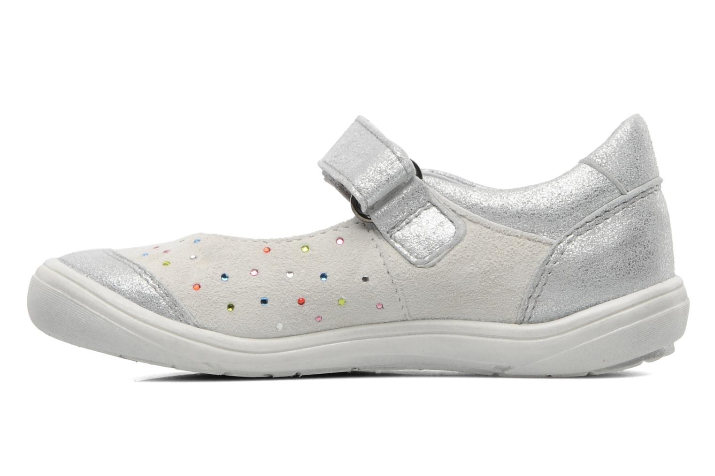 Ballerina's Acebo's Peony Wit voorkant