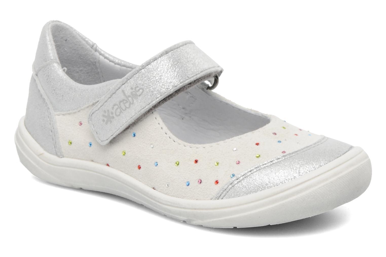 Ballerines Acebo's Peony Blanc vue détail/paire