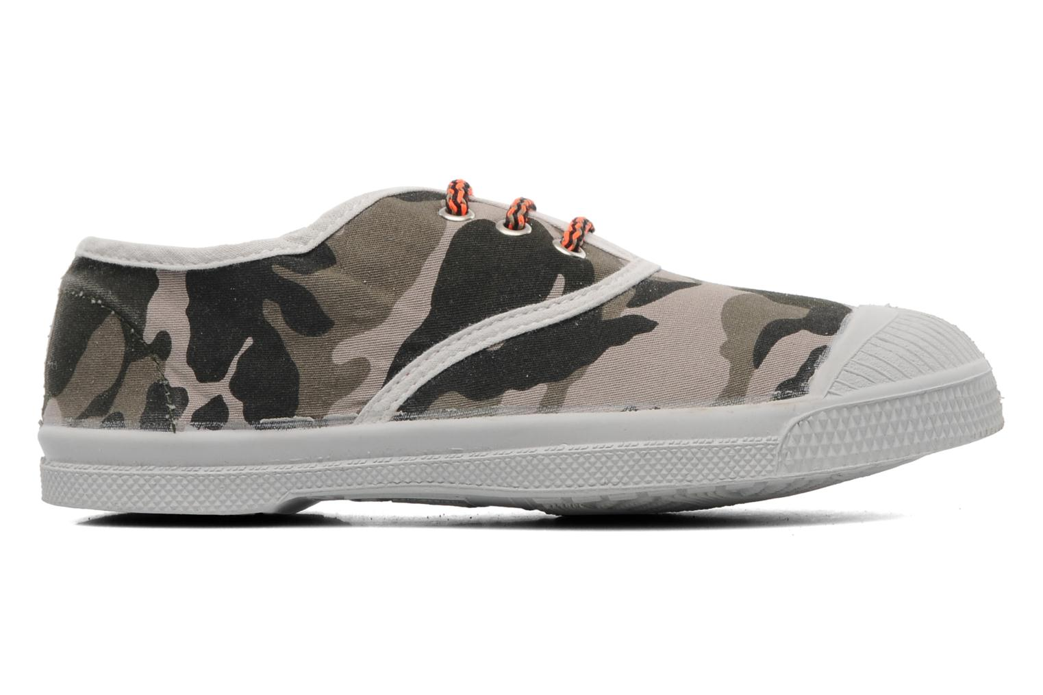Trainers Bensimon Tennis Camofluo E Green back view