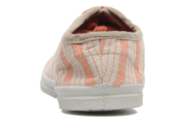Sneakers Bensimon Tennis Retro E Oranje rechts