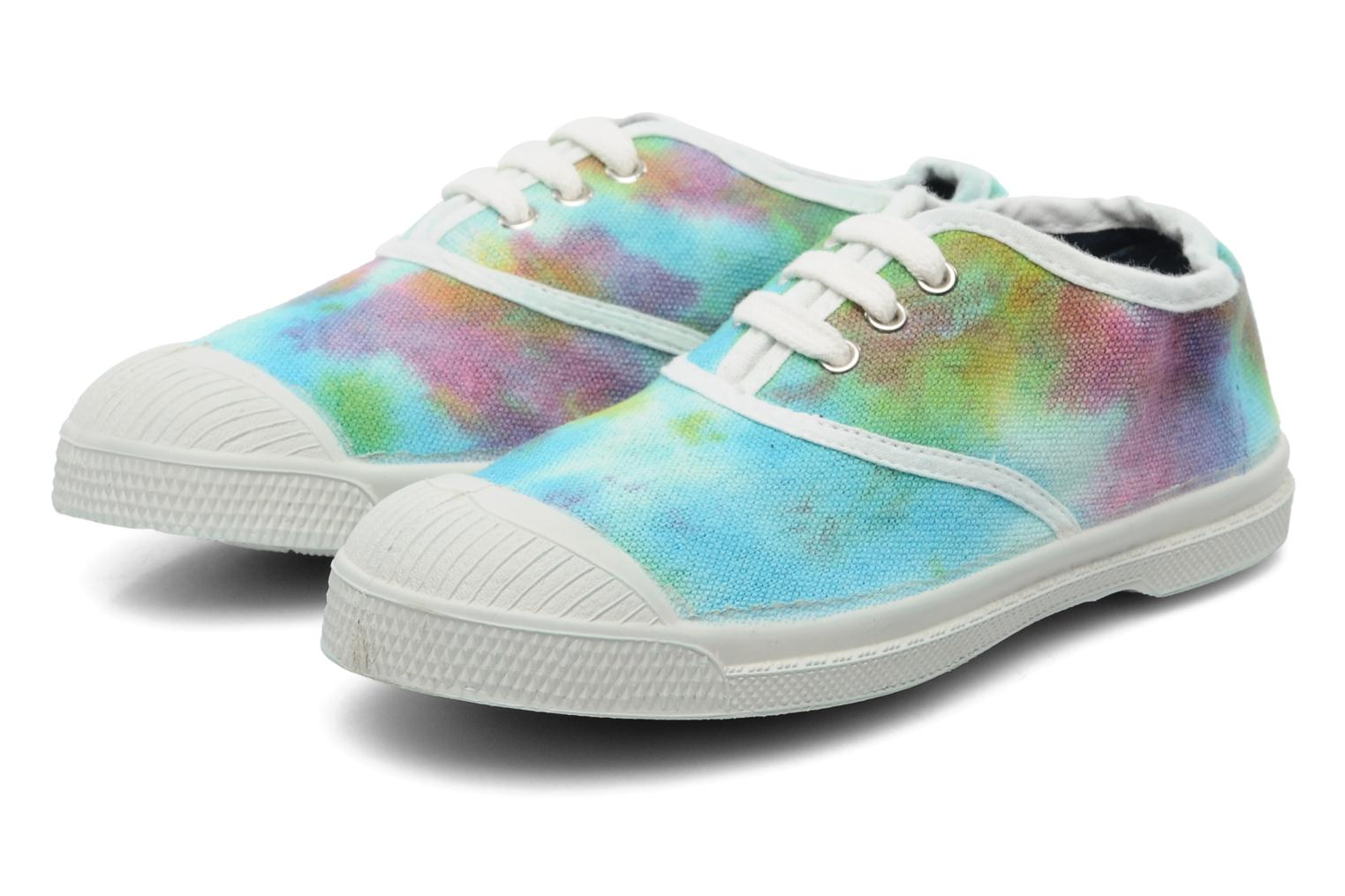 Sneakers Bensimon Tennis Tie & Dye E Multicolor 3/4'