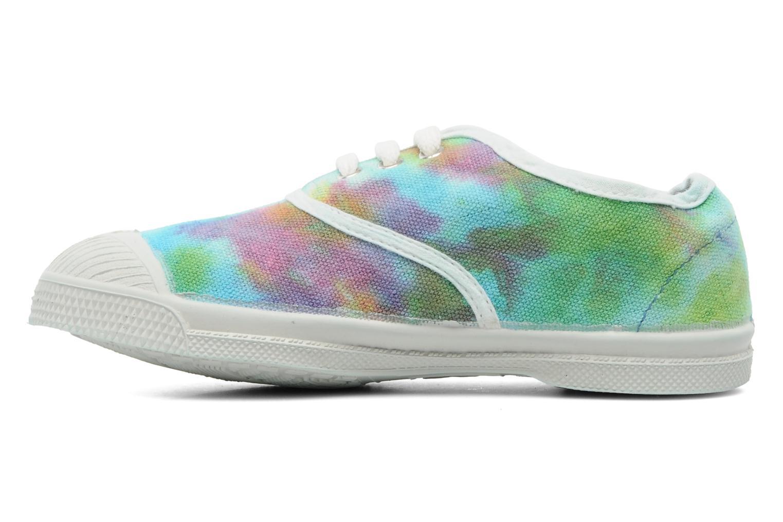 Sneaker Bensimon Tennis Tie & Dye E mehrfarbig ansicht von vorne