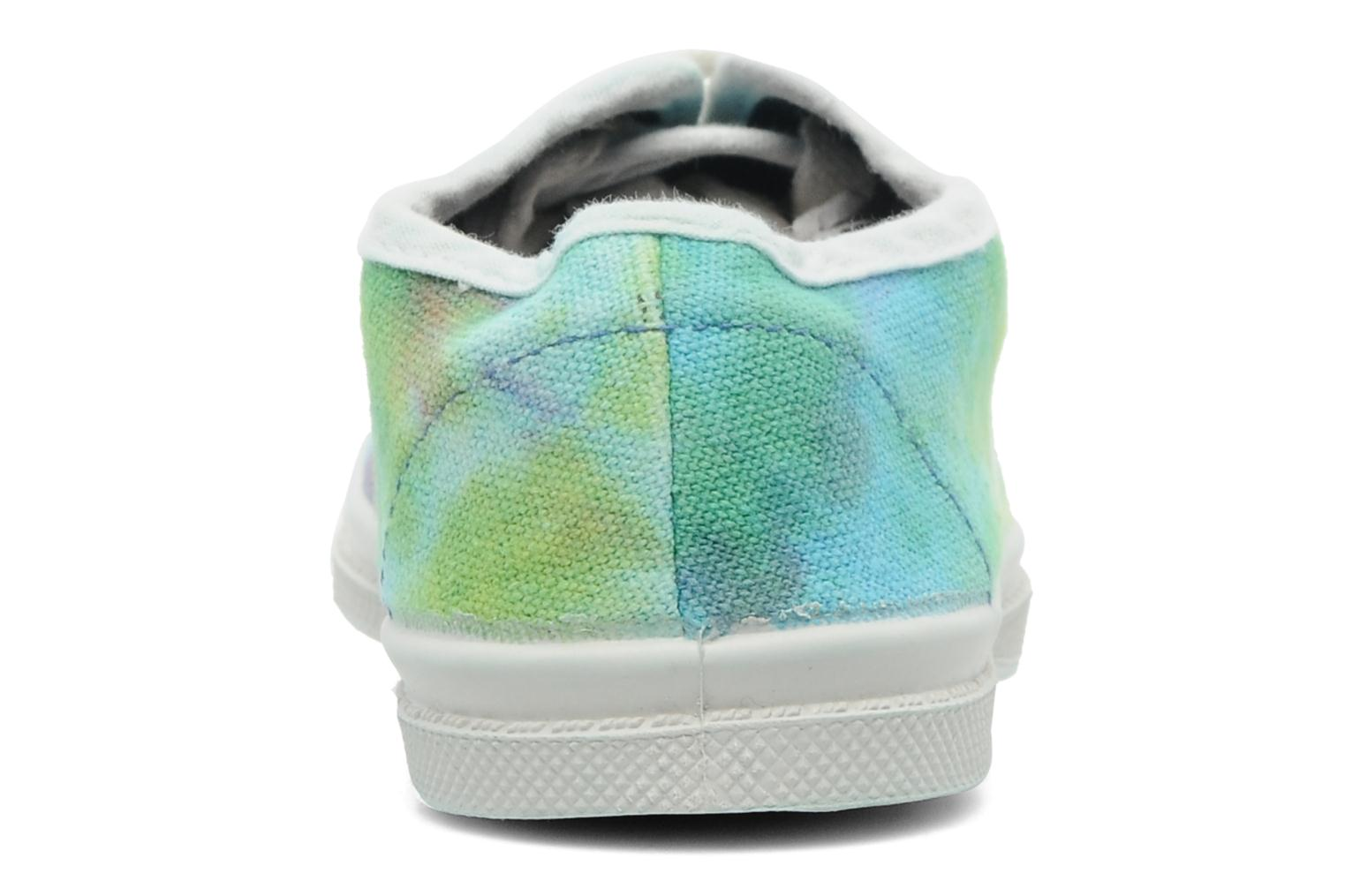 Trainers Bensimon Tennis Tie & Dye E Multicolor view from the right