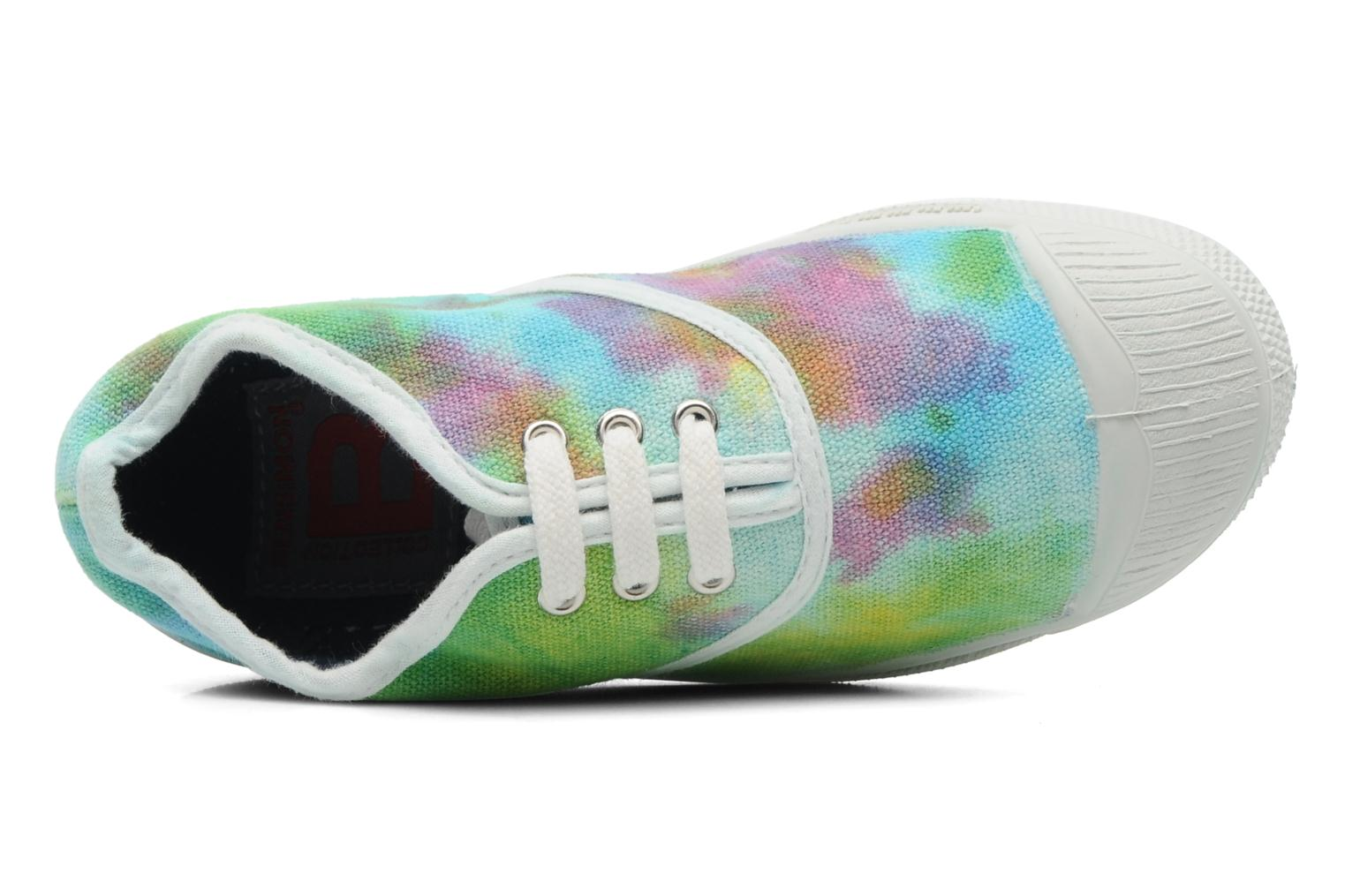 Trainers Bensimon Tennis Tie & Dye E Multicolor view from the left