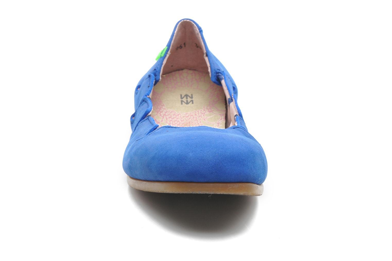 Ballerines El Naturalista Croche N961 Bleu vue portées chaussures