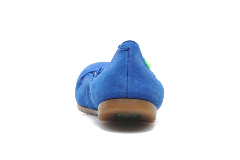 Ballerines El Naturalista Croche N961 Bleu vue droite
