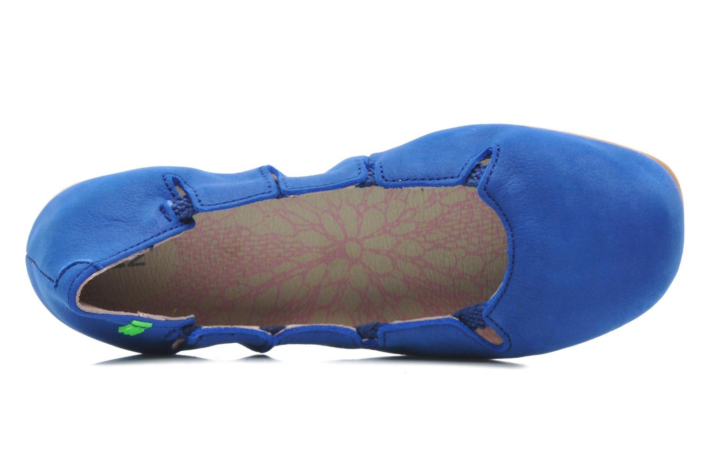 Ballerines El Naturalista Croche N961 Bleu vue gauche
