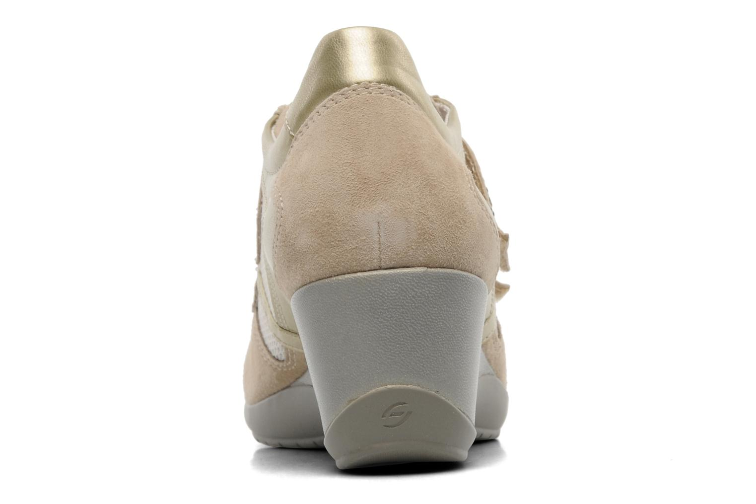 Trainers Stonefly Evoque 19 Beige view from the right