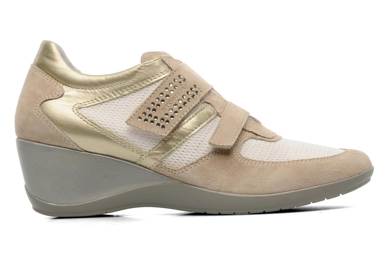 Trainers Stonefly Evoque 19 Beige back view