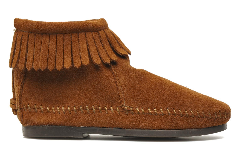 Boots en enkellaarsjes Minnetonka Back Zip bootie G Bruin achterkant