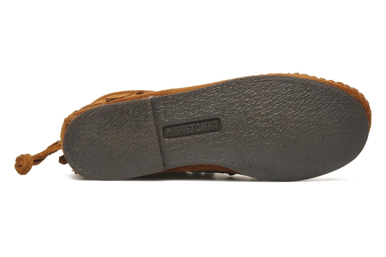 Boots en enkellaarsjes Minnetonka Back Zip bootie G Bruin boven