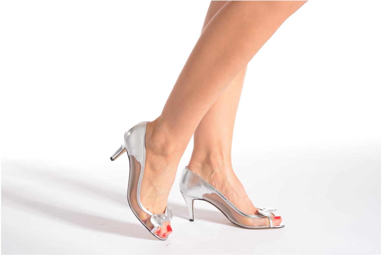 Zapatos de tacón Fred Marzo Maguy Plateado vista de abajo