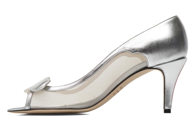 Zapatos de tacón Fred Marzo Maguy Plateado vista de frente