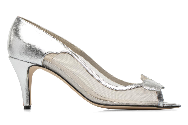 Zapatos de tacón Fred Marzo Maguy Plateado vistra trasera