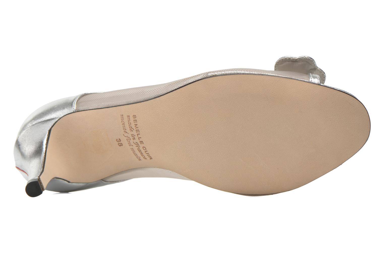 Zapatos de tacón Fred Marzo Maguy Plateado vista de arriba
