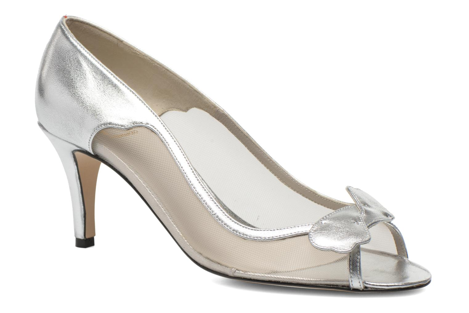 High heels Fred Marzo Maguy Silver detailed view/ Pair view